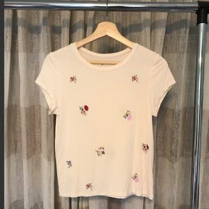 Soft & Sexy Floral Tee